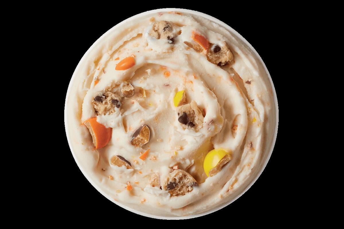 Reeses Pieces Cookie Dough Blizzard Treat
