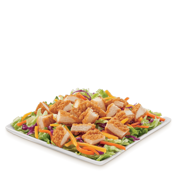 crispy chicken strip salad