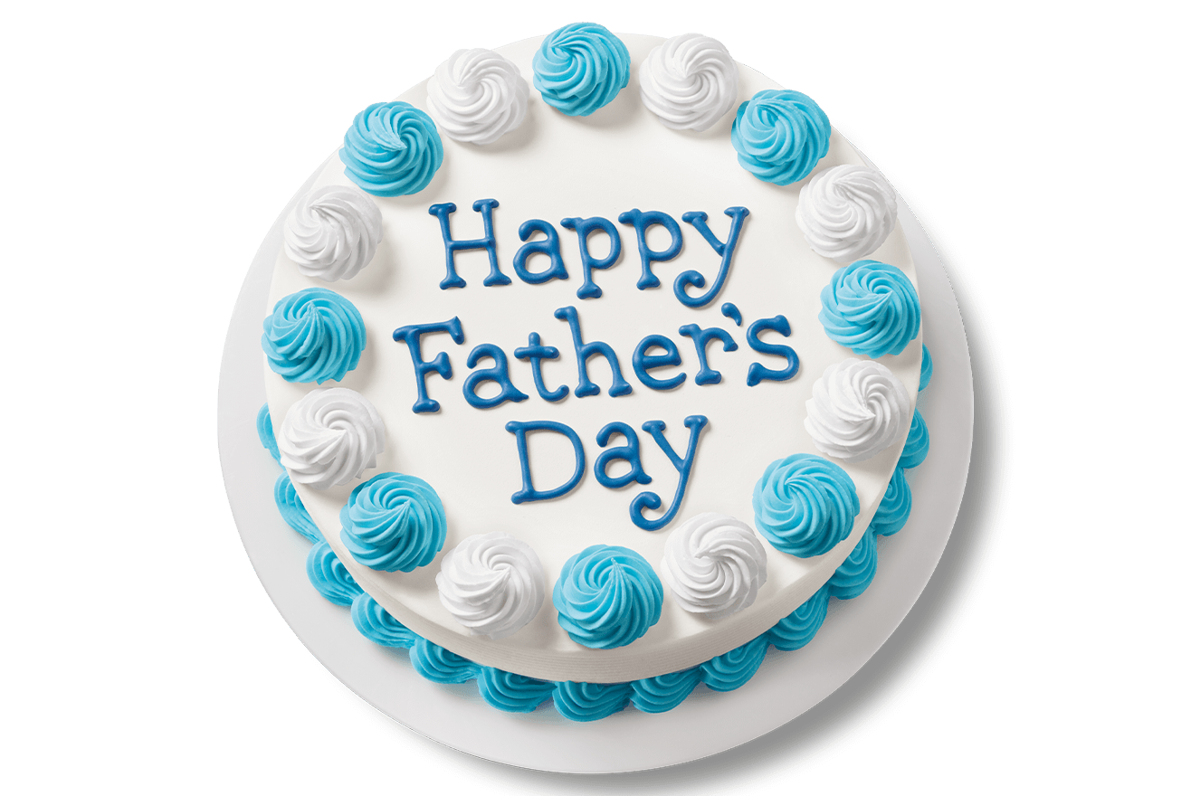 DQ Father's Day Cake