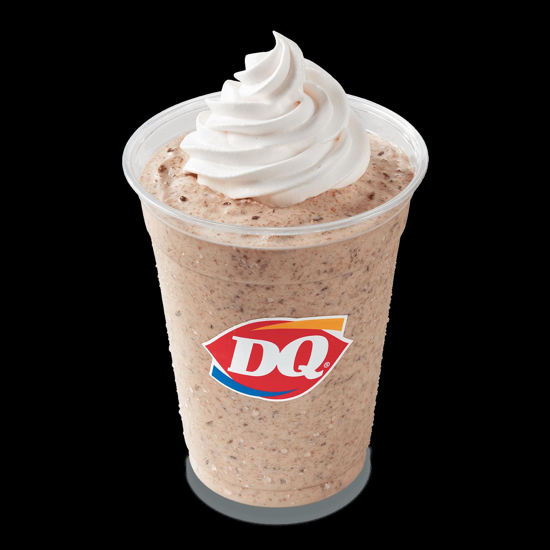DQ Choco Hazelnut Chip Shake
