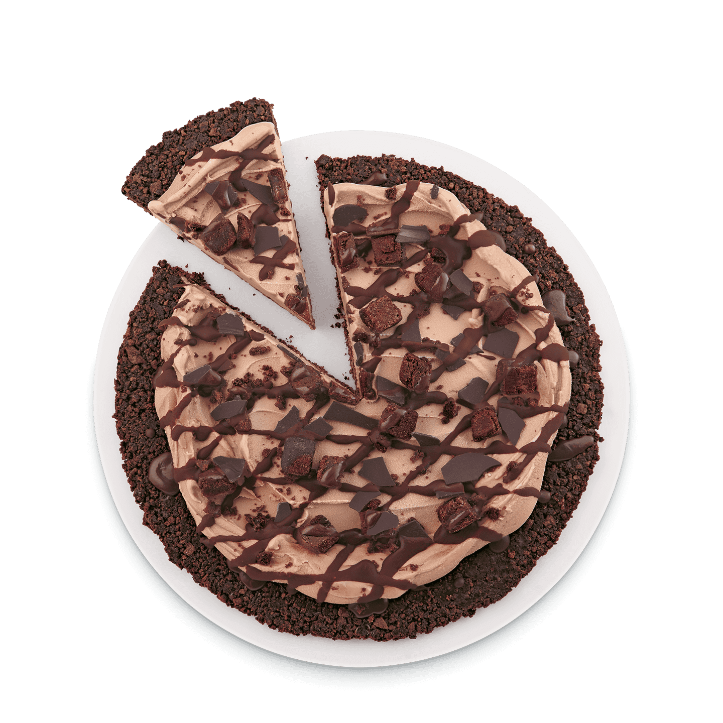 Choco Brownie Treatzza Pizza