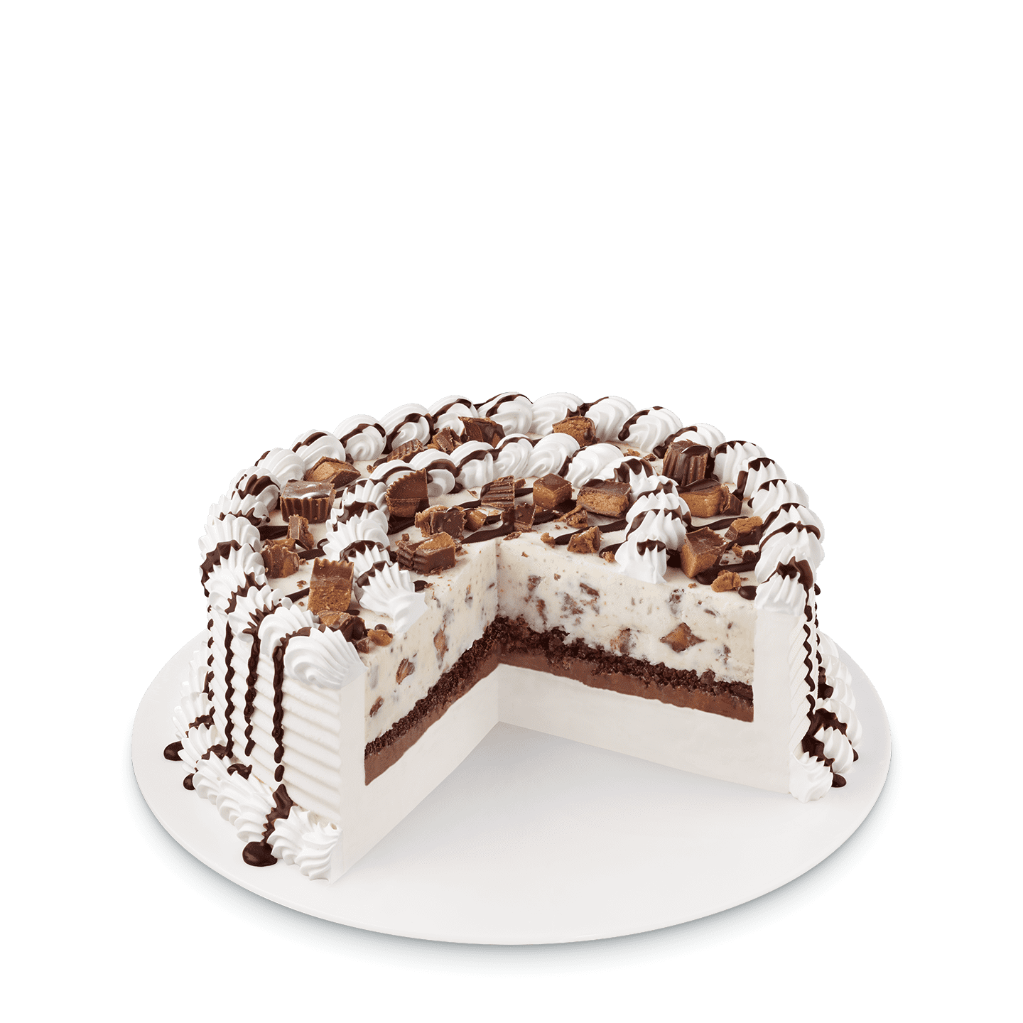 Reese S Peanut Butter Cups Blizzard Cake Dairy Queen Menu