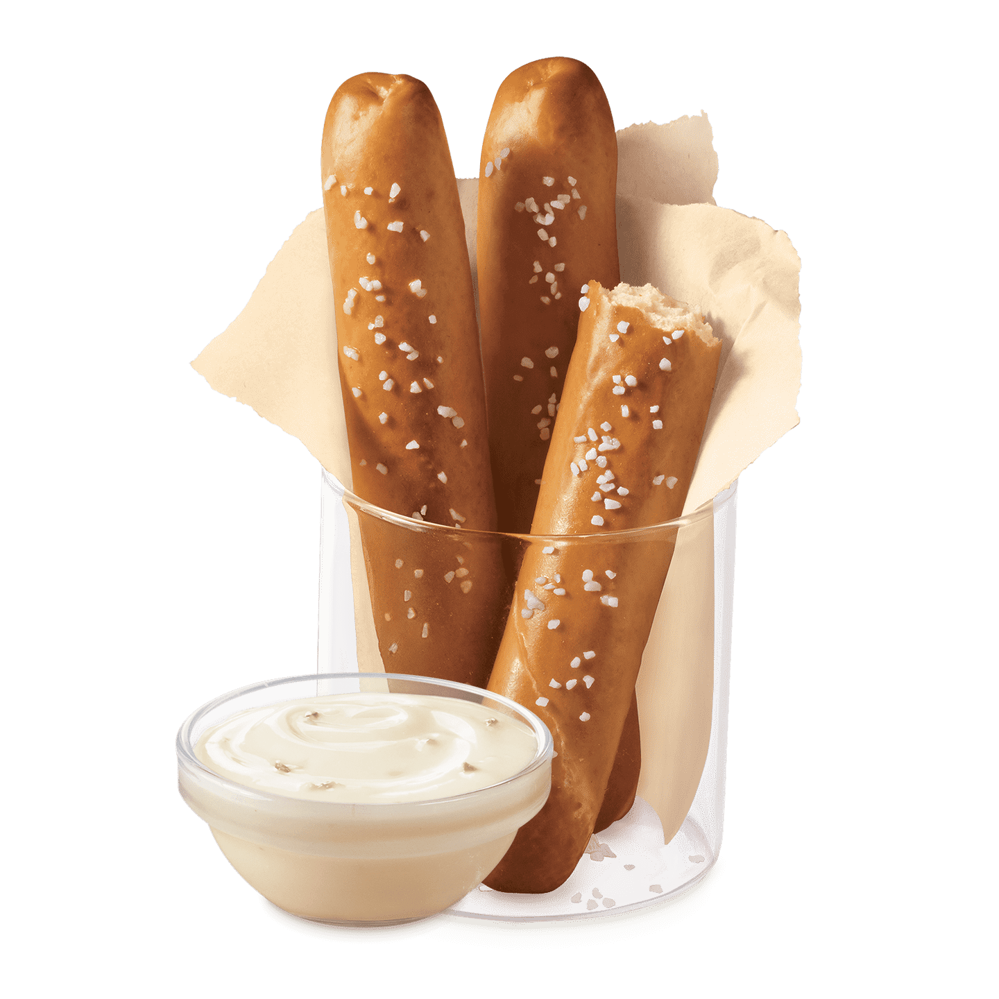 pretzel sticks with zesty queso